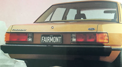 FORD Falcon XD Fairmont Ghia ESP REAR Chrome Bumper Mould sedan ZJ FC LTD