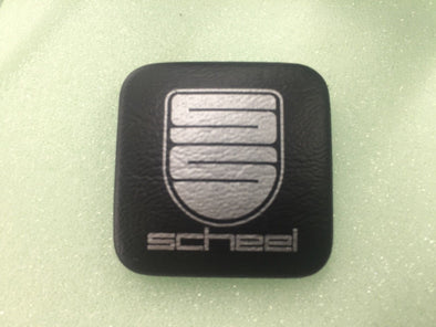 Scheel seat badge pair BMW CSL PORSCHE NEW VW Mercedes Special Sitze button AUDI