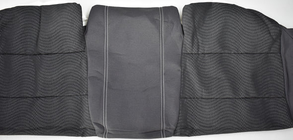 FORD SEAT TRIM - NEW GENUINE SEDAN REAR BASE BAF2F63804A9 XR BF MK11 CHICANE/PANTHOR WARM CHARCOAL - SILVER STITCHING