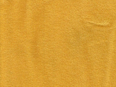 VELOUR - YELLOW CRUSHED 140cm Wide for Automotive with 3mm foam backing