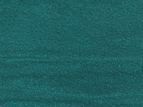 VELOUR - TEAL CRUSHED 140cm Wide for Automotive with 3mm foam backing