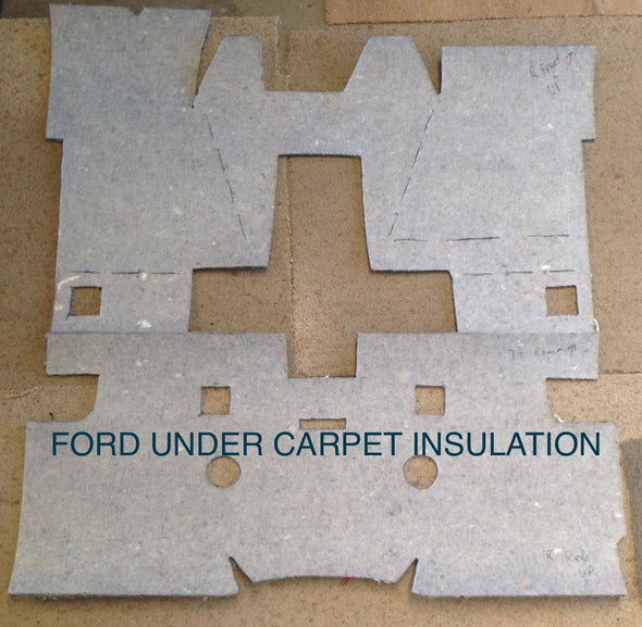FORD FLOOR UNDER CARPET INSULATION PRE CUT FALCON FAIRMONT XT-XF