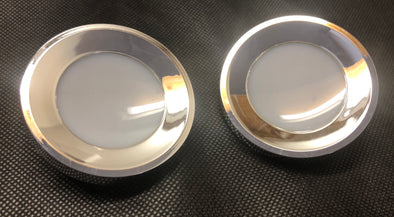 FORD XW XY FAIRMONT GT GS FAIRLANE ZC ZD INTERIOR COURTESY LIGHT LENS PAIR