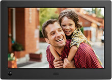 "NIX X08G Advance 8"" Widescreen Hi-Res Digital Photo & HD Video Frame with Hu-Motion Sensor, Black"