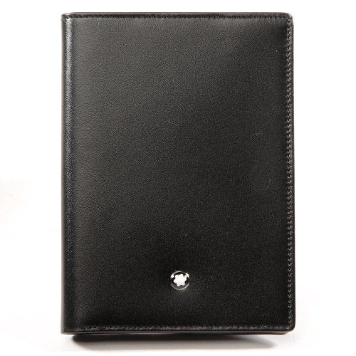 Montblanc Meisterstück Black Full-Grain Cowhide Wallet with View Pocket