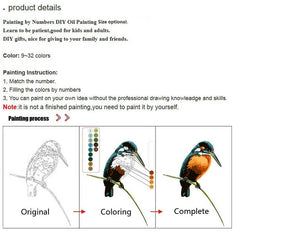 Custom Paint Your Pet By Numbers - Paint Your Pet By Number
