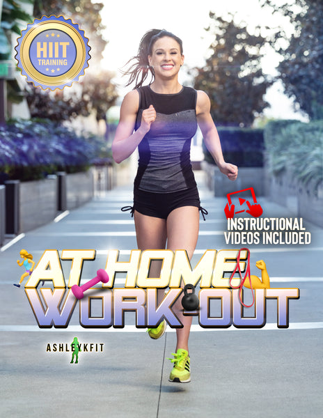 AT HOME WORKOUT W/ H.I.I.T TRAINING