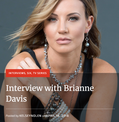 brianne davis wears Del Pozzo jewerly
