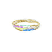 Opal Beaded Stretch Bracelets