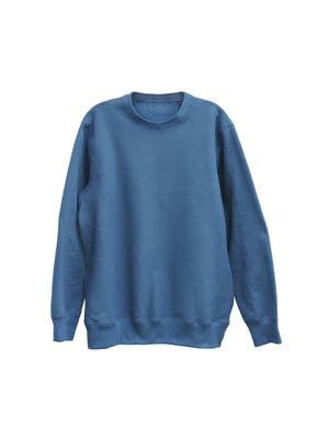 Deepsea Blue Heavy Fleece - MAIN CREWNECK