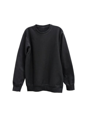 blank heavy black - CREWNECK