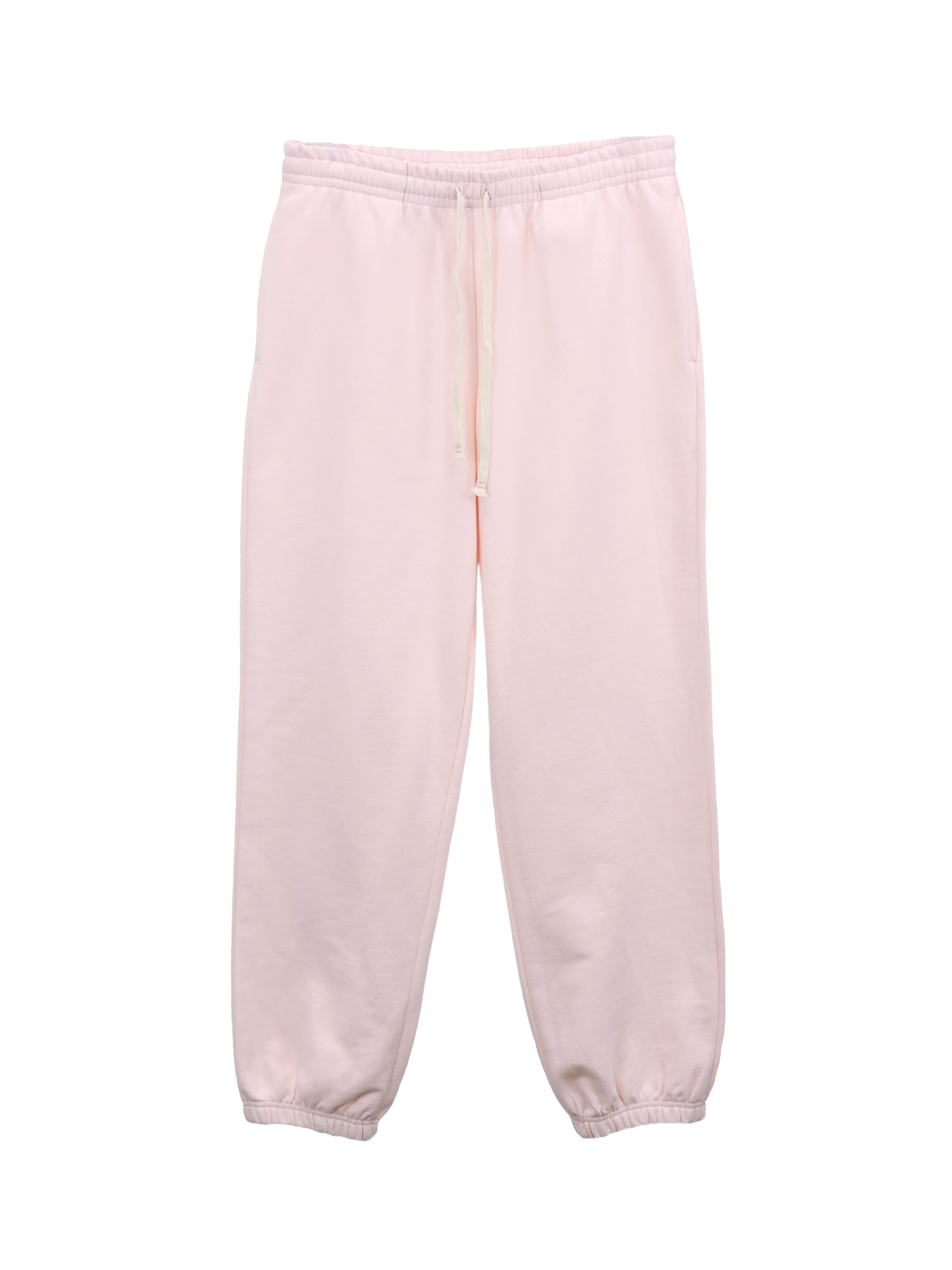 blank pale pink - SWEATPANT