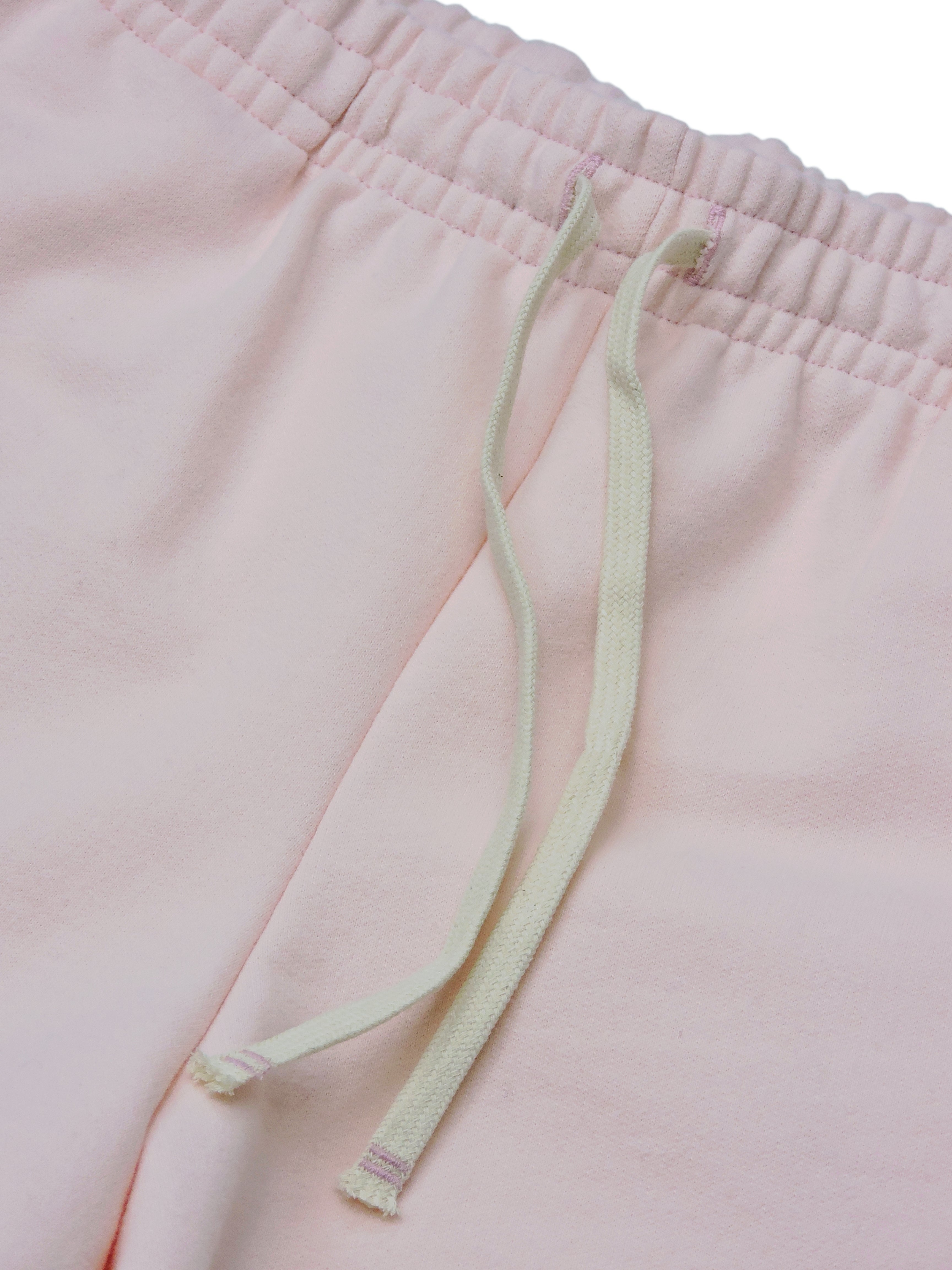 Pale Pink Fleece - PARK LONG SHORT