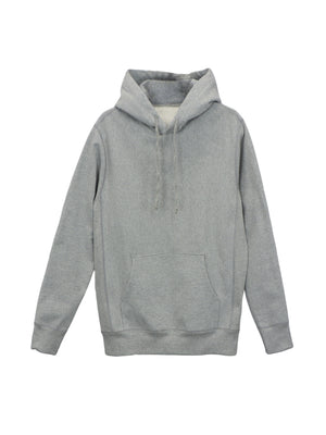 Heather Grey Heavy French Terry - FLEX HOODIE