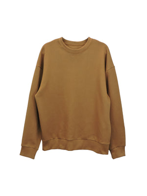 Groundhog Brown Fleece - PARK CREWNECK