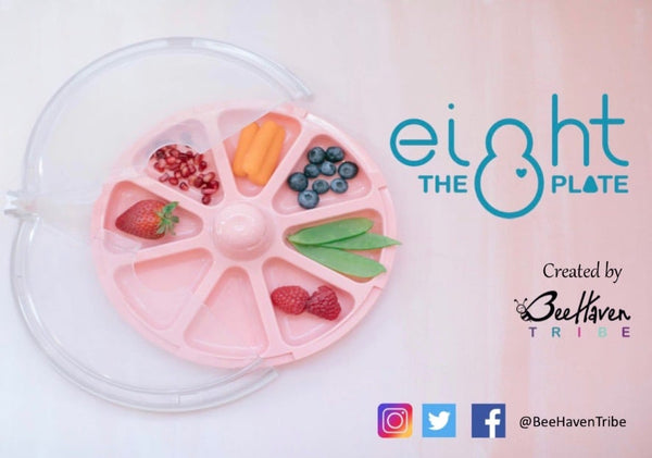 8 the Plate logo and plate pink
