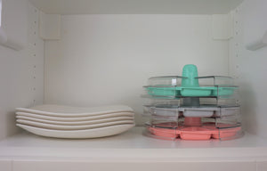 8 The Plate Tickle Me Pink In Cupboard