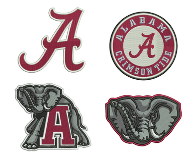 Alabama Emblem Embroidery Design Files
