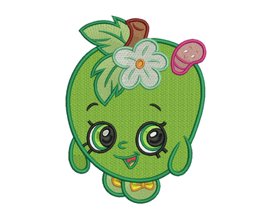 Apple Blossom Embroidery Design #2