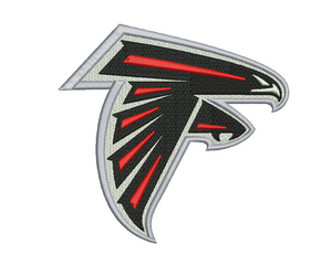 Atlanta Falcons Embroidery Design
