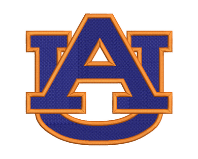 Auburn Tigers Embroidery Design