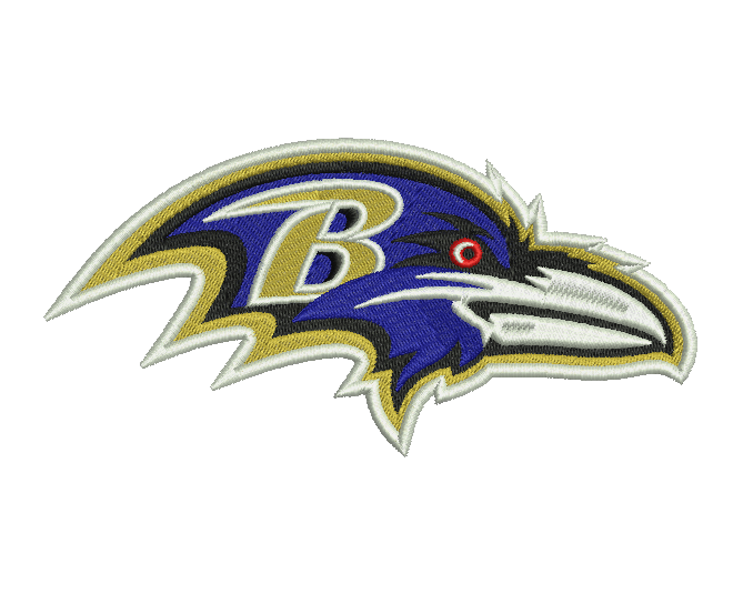 Baltimore Ravens Embroidery Design