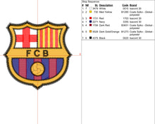 Barcelona Embroidery Design