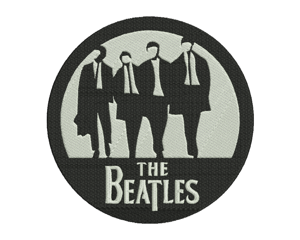 Beatles Embroidery Design 2 Buy Embroidery Design