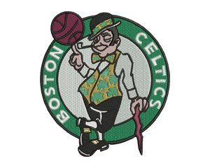 Boston Celtics Embroidery Design