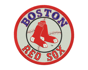 Boston Red Sox Embroidery Design