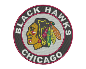 Chicago Blackhawks Embroidery Design