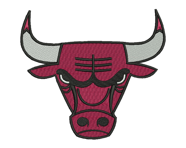 Chicago Bulls Embroidery Design