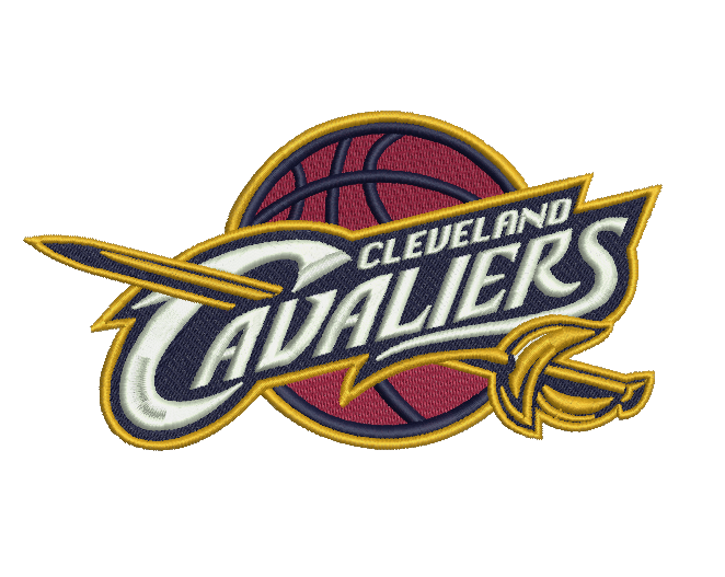 Cleveland Cavaliers Embroidery Design File