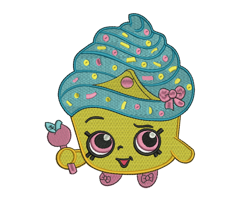cupcake queen embroidery design buy embroidery design