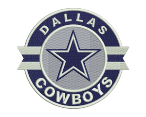 Dallas Cowboys Embroidery Design