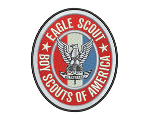 Eagle Scout Embroidery Design