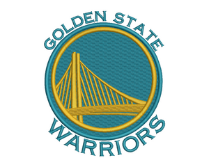 Golden State Warriors Embroidery Design