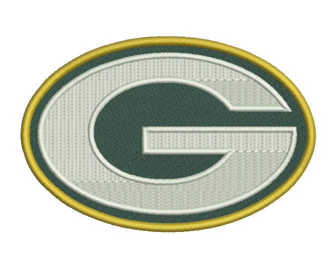 Green Bay Packers Embroidery Design #1