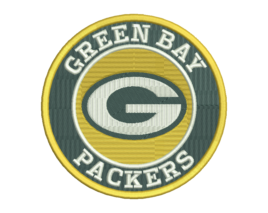 Green Bay Packers Embroidery Design File