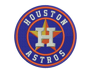 Houston Astros Embroidery Design #1