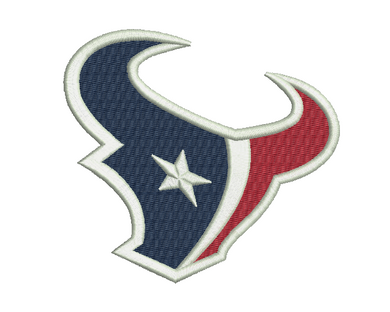 Houston Texans Embroidery Design