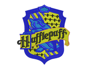Hufflepuff Badge Embroidery Design