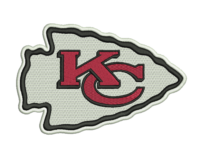 Kansas City Chiefs Embroidery Design