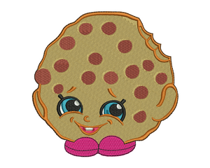 Kooky Cookie Embroidery Design