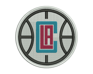Los Angeles Clippers Embroidery Design