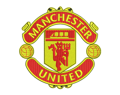 Manchester United Embroidery Design
