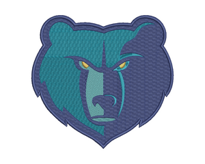 Memphis Grizzlies Embroidery Design
