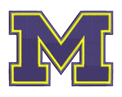 Michigan Wolverines Embroidery Design #2