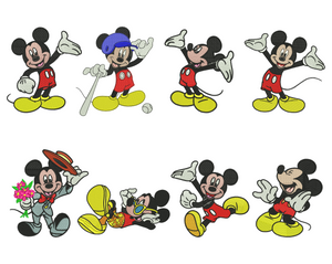 Mickey Embroidery Design