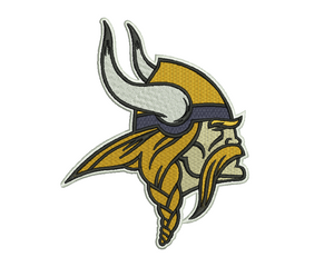 Minnesota Vikings Embroidery Design